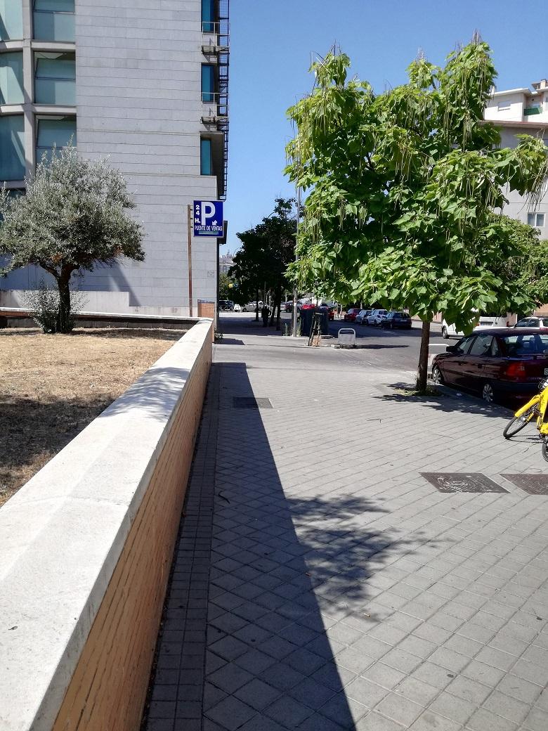 Inmobiliaria lopez marti alquiler de plaza de garaje en la for Plaza de garaje madrid